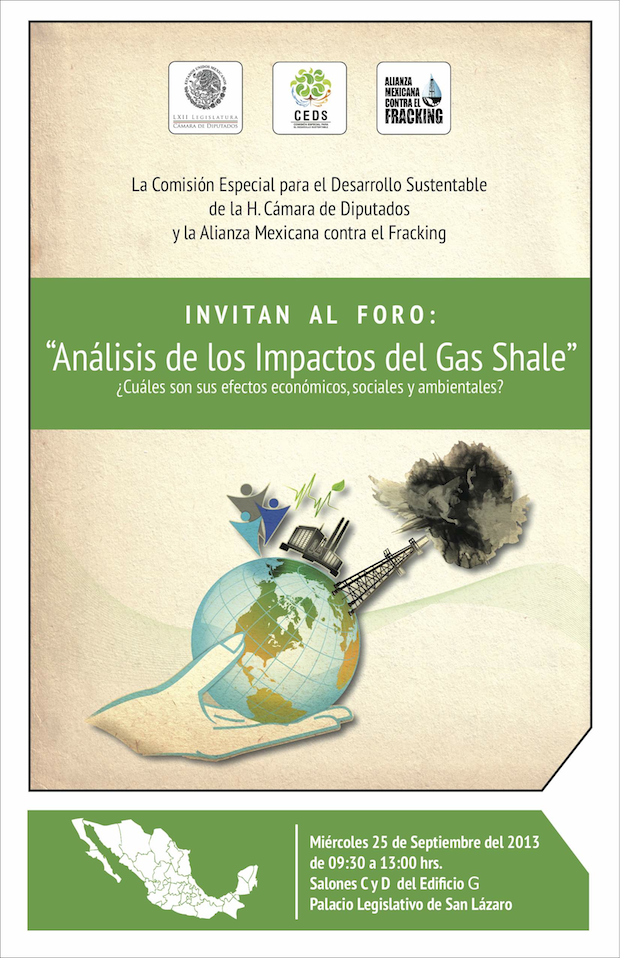 Cartel foro_fracking
