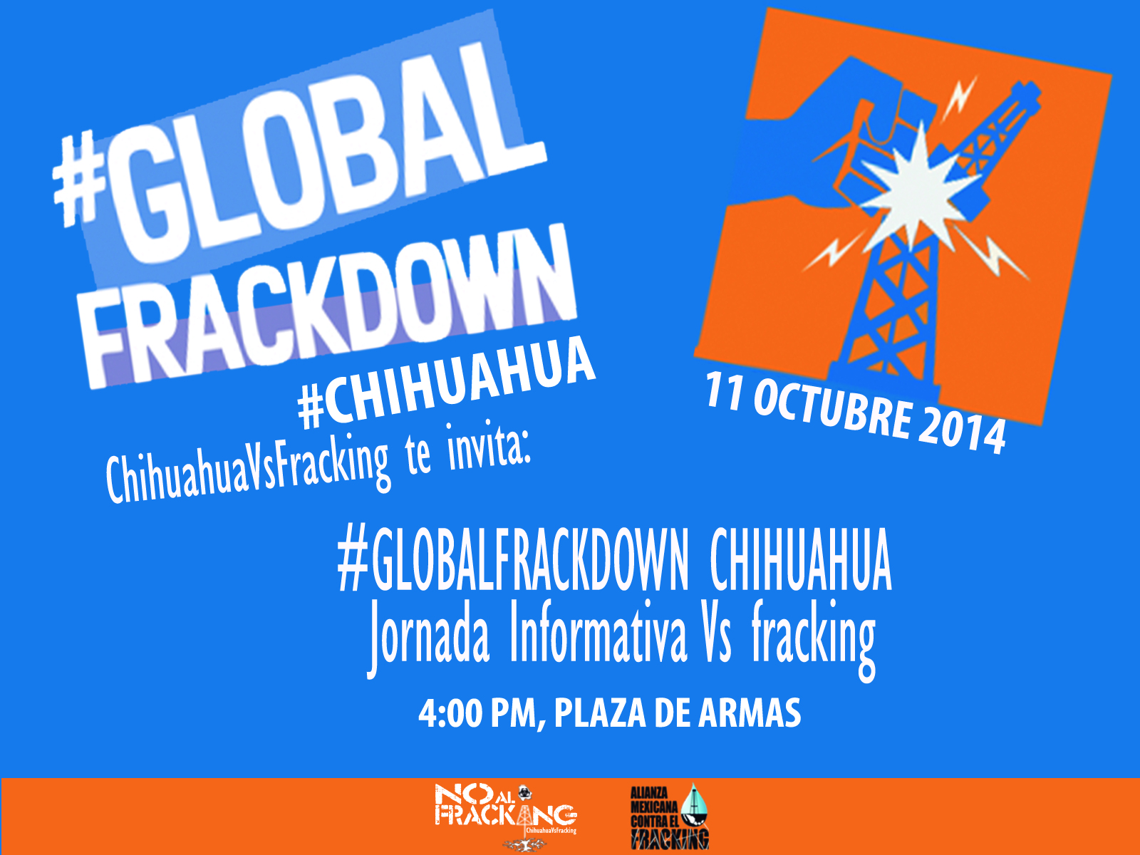Global frackdown Chih vs fracking