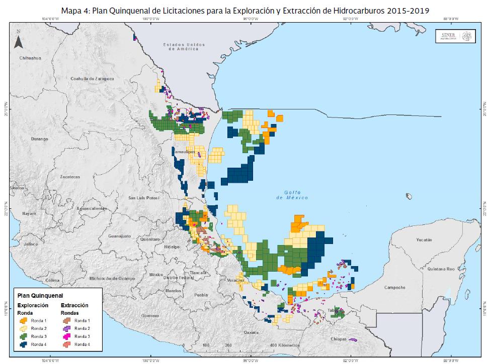 Licitaciones Plan Quinquenal (2015-2020)