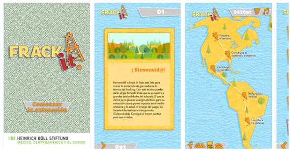 Frack it, aplicación que informa sobre los riesgos del fracking